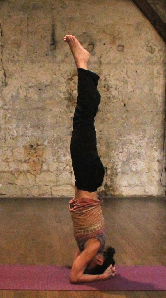 Sirsasana, la posture sur la tête