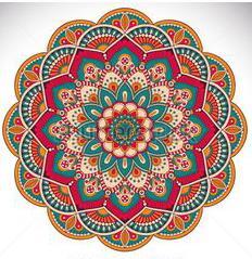 Mandala printemps 2