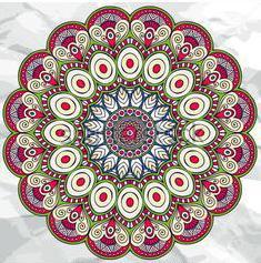 Mandala printemps